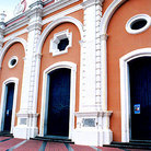 Picture - Entrance of Cathedral in Plaza Bolivar in Ciudad Bolivar.