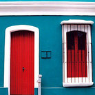 Picture - Colorful building in Colonial Quarter of Ciudad Bolivar.