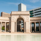 Picture - The Voorhies Memorial at the Civic Center Park in Denver.