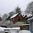 Picture - Small town of Clausthal-Zellerfeld.