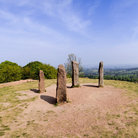 Picture - A lookout point in the Clent Hills.