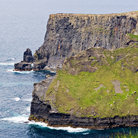 Picture - View of the Cliffs of Moher on the Atlantic.