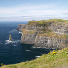 Picture - Scenic view of the cliffs at Moher.
