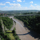 Picture - The Clifton Suspension Bridge in Bristol.