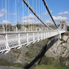 Picture - Clifton Suspension Bridge was completed in 1864, Bristol.