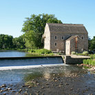 Picture - Watermill in Clinton, New Jersey.