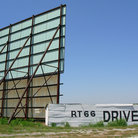 Picture - Route 66 Drive-In Theater, Clinton, Oklahoma.