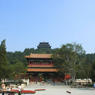 Picture - View over Jingshan park in Beijing.