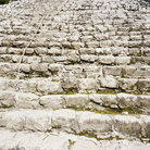 Picture - Mound of stairs at Coba.