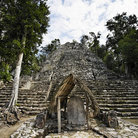 Picture - The Mayan ruins at Coba.