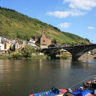 Picture - View of the Moselle River in Cochem.