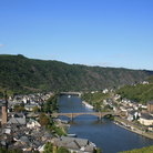 Picture - Overlooking the river town of Cochem.