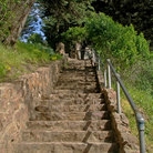 Picture - Steps to Coit Tower, San Francisco.