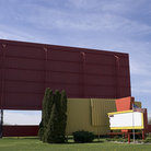 Picture - Drive-in Theatre in Coldwater, Michigan.