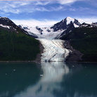 Picture - Wellesley Glacier at College Fjord.
