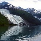 Picture - Vassar Glacier in College Fjord.