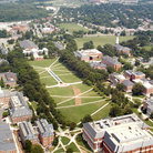 Picture - Aerial view of the University of Maryland at College Park.