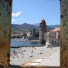 Picture - Tower of Eglise Notre-Dame-des-Anges in Collioure.
