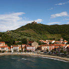 Picture - View over Collioure.