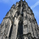 Picture - Gothic tower of the Cologne Cathedral.