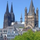 Picture - The tower of the Cathedral in Cologne.