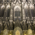 Picture - Detail of the famous cathedral of Cologne.