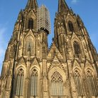 Picture - Towers of Cathedral of St Peter & St Mary in Cologne stand 515 feet tall.