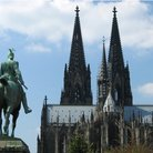Picture - Construction of St Peter & St Mary Cathedral in Cologne began in 1248 but was not completed until 1842-80.