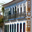 Picture - Typical colonial architecture in Parati.
