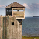 Picture - Fort Michimilimac at Mackinaw City.
