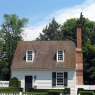 Picture - Home in Colonial Williamsburg, Virginia.