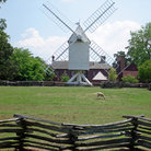 Picture - Windmill at Colonial Williamsburg, Virginia.