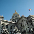 Picture - The Capitol Building in Denver.