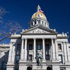 Picture - The Colorado State Capitol in Denver.