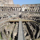 Picture - Lower levels of Ancient Colosseum in Rome.