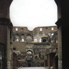 Picture - Interior view of the Colosseum in Rome.