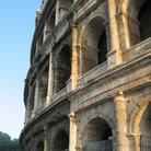 Picture - The Colosseum in Rome, was able to accommodate 50,000 spectators.