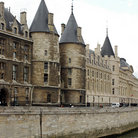 Picture - Exterior of the Conciergerie prison in Paris.
