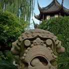Picture - Confucius Temple in Shanghai.