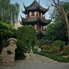 Picture - Walk way to the Confucius Temple in Shanghai.