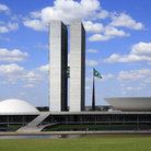 Picture - The Congress Center in Brasilia.