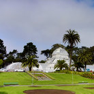 Picture - San Francisco Conservatory of Flowers in Golden Gate Park.