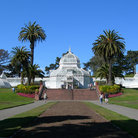Picture - Conservatory of Flowers in Golden Gate Park, San Francisco.