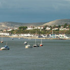 Picture - Boats at Conwy Bay.