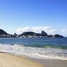 Picture - View of Sugar Loaf from Copacabana beach.