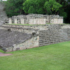 Picture - A temple at the ruins of Copan.