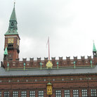 Picture - Detail on roof of City Hall, Kobenhavn.