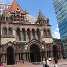 Picture - Copley Square, Boston. .