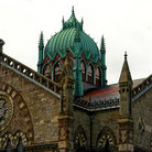 Picture - Ornate church in Copley Square, Boston.