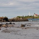 Picture - Shoreline of Copper Harbor.